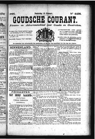 Goudsche Courant 1891-02-19