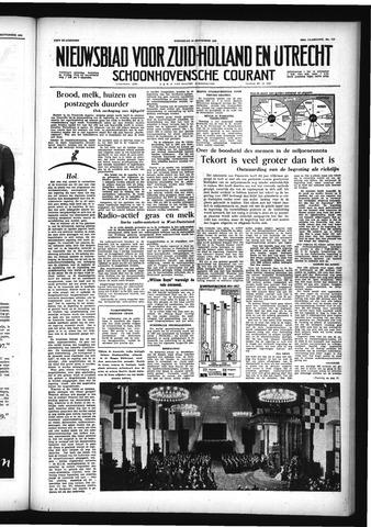 Schoonhovensche Courant 1956-09-19