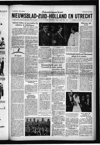 Schoonhovensche Courant 1960-04-20