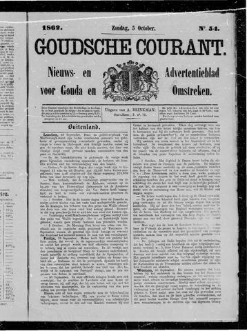 Goudsche Courant 1862-10-05