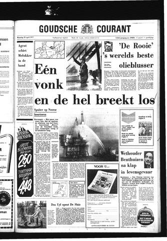 Goudsche Courant 1977-04-25