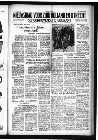 Schoonhovensche Courant 1954-05-10