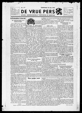 De Vrije Pers 1945-07-25