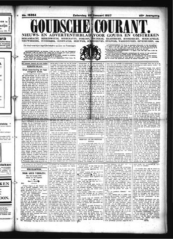 Goudsche Courant 1927-01-22