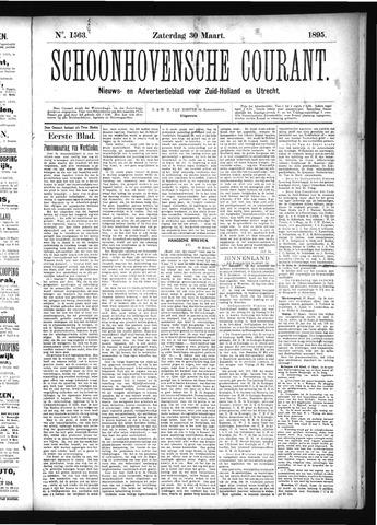 Schoonhovensche Courant 1895-03-30