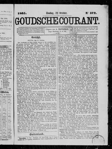 Goudsche Courant 1865-10-22