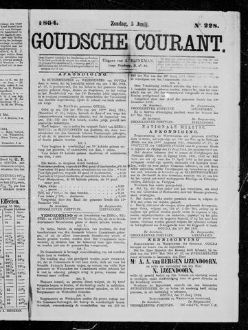 Goudsche Courant 1864-06-05