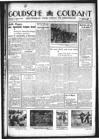 Goudsche Courant 1942-01-27