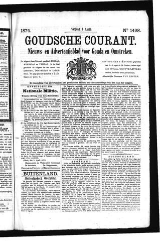 Goudsche Courant 1874-04-03