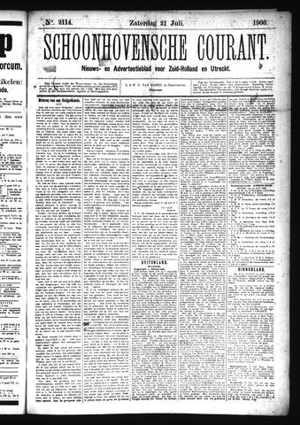 Schoonhovensche Courant 1900-07-21