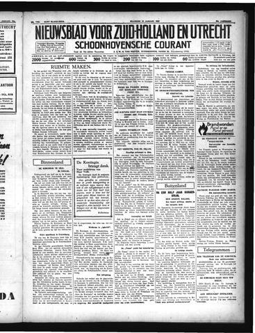 Schoonhovensche Courant 1937-01-18