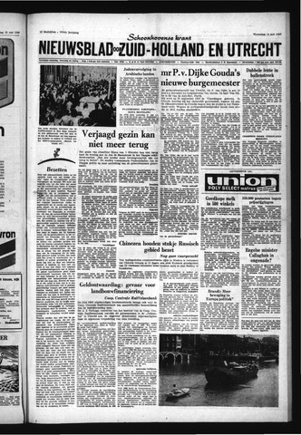 Schoonhovensche Courant 1969-05-14