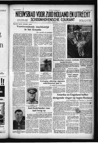 Schoonhovensche Courant 1957-10-28
