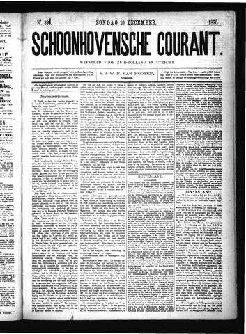 Schoonhovensche Courant 1876-12-10
