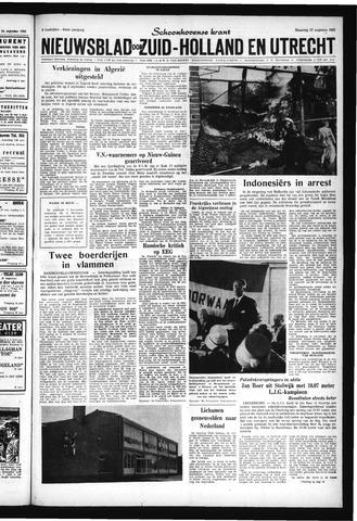 Schoonhovensche Courant 1962-08-27