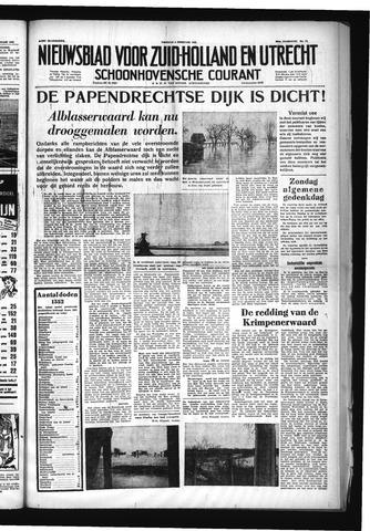 Schoonhovensche Courant 1953-02-06