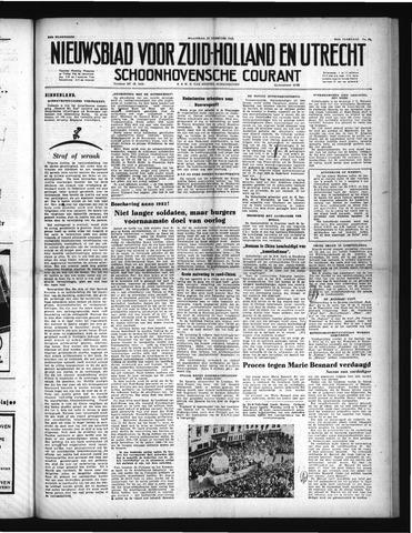 Schoonhovensche Courant 1952-02-27
