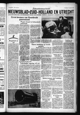 Schoonhovensche Courant 1966-08-17