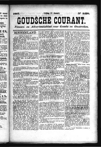 Goudsche Courant 1887-01-21