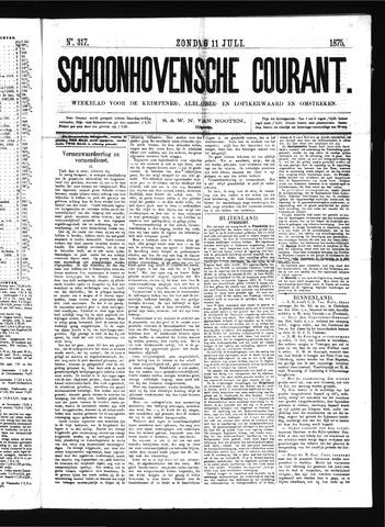 Schoonhovensche Courant 1875-07-11