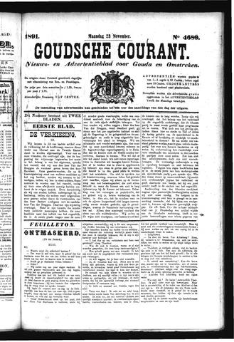 Goudsche Courant 1891-11-23