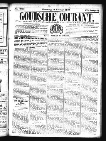 Goudsche Courant 1919-02-19