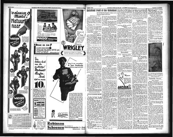 Schoonhovensche Courant 1933-10-16