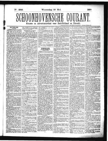 Schoonhovensche Courant 1908-05-20
