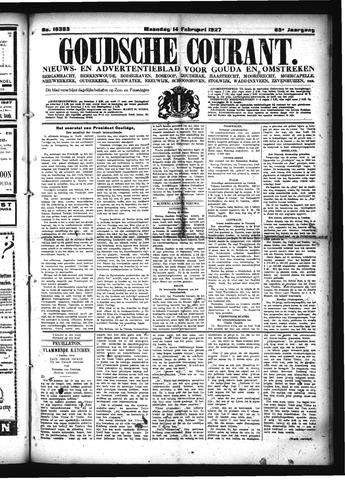 Goudsche Courant 1927-02-14