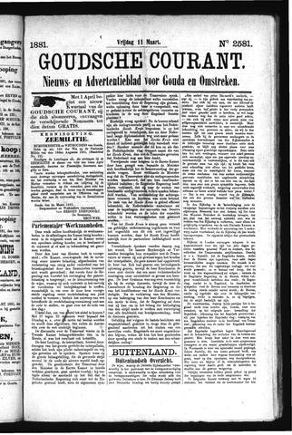 Goudsche Courant 1881-03-11