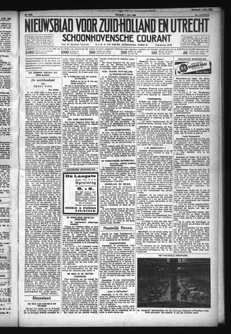 Schoonhovensche Courant 1932-07-01