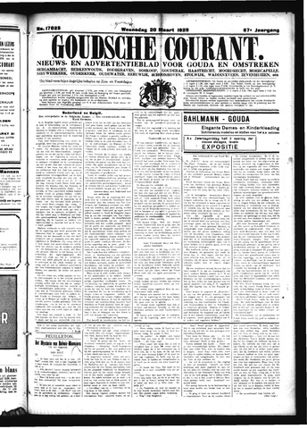 Goudsche Courant 1929-03-20