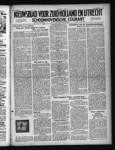 Schoonhovensche Courant 1948-04-07