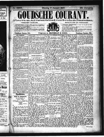 Goudsche Courant 1917-01-09