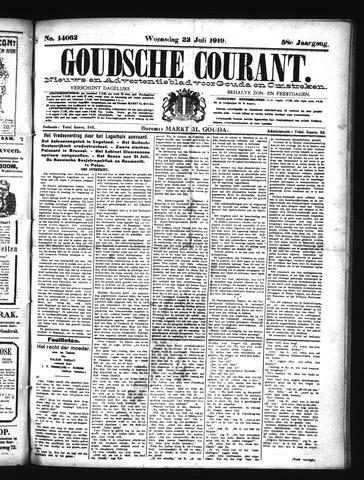 Goudsche Courant 1919-07-23