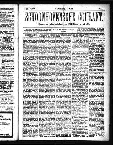 Schoonhovensche Courant 1900-07-04