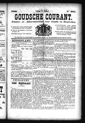 Goudsche Courant 1889-01-11