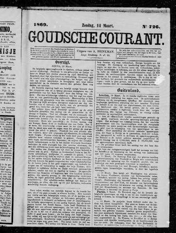 Goudsche Courant 1869-03-14