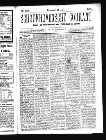 Schoonhovensche Courant 1903-07-25