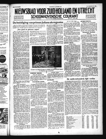 Schoonhovensche Courant 1947-10-15