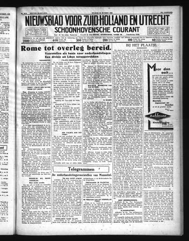 Schoonhovensche Courant 1935-10-25