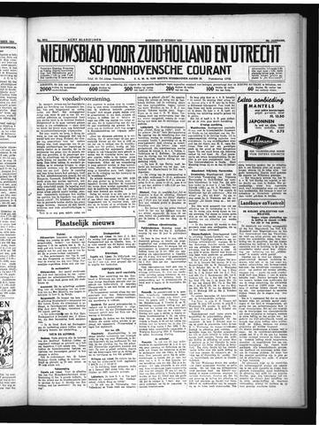 Schoonhovensche Courant 1934-10-10