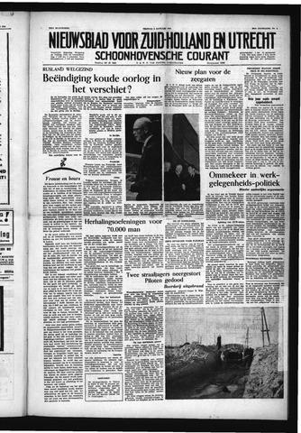 Schoonhovensche Courant 1954-01-08