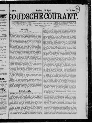 Goudsche Courant 1865-04-23