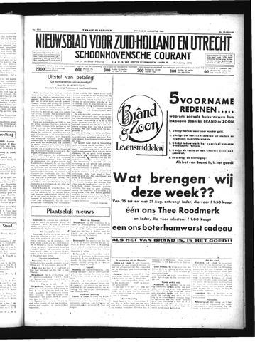 Schoonhovensche Courant 1934-08-24