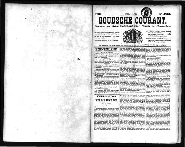 Goudsche Courant 1892-07-01