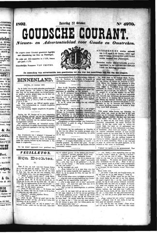 Goudsche Courant 1892-10-22