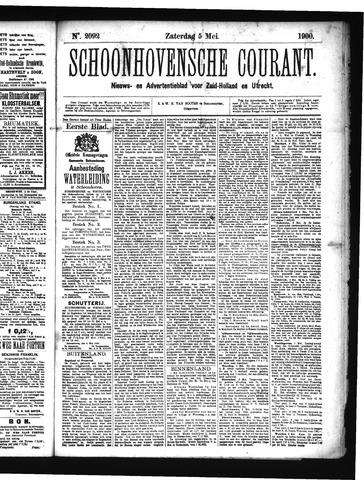 Schoonhovensche Courant 1900-05-05