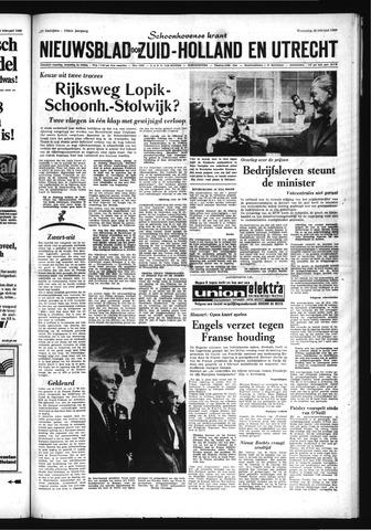 Schoonhovensche Courant 1969-02-26