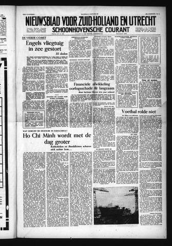 Schoonhovensche Courant 1954-01-11